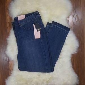 NYDJ Boost Raw Hem Skinny Jean